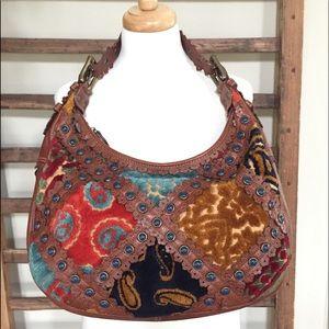 Isabella Fiore Carpet Bag